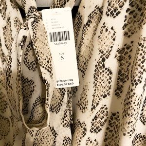Anthropologie Dresses - Anthropologie snake print dress